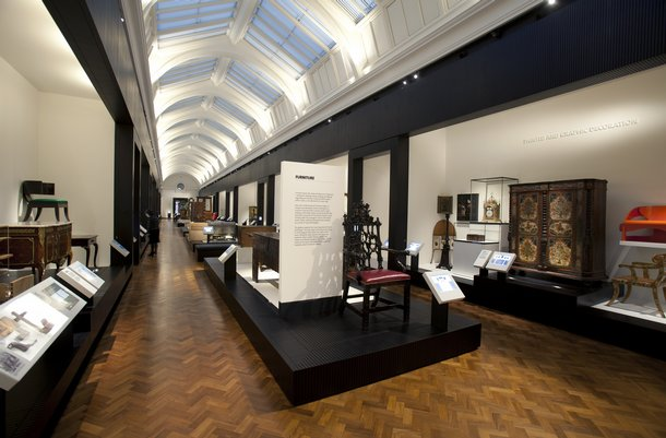London's V&A Museum opens dedicated furniture gallery