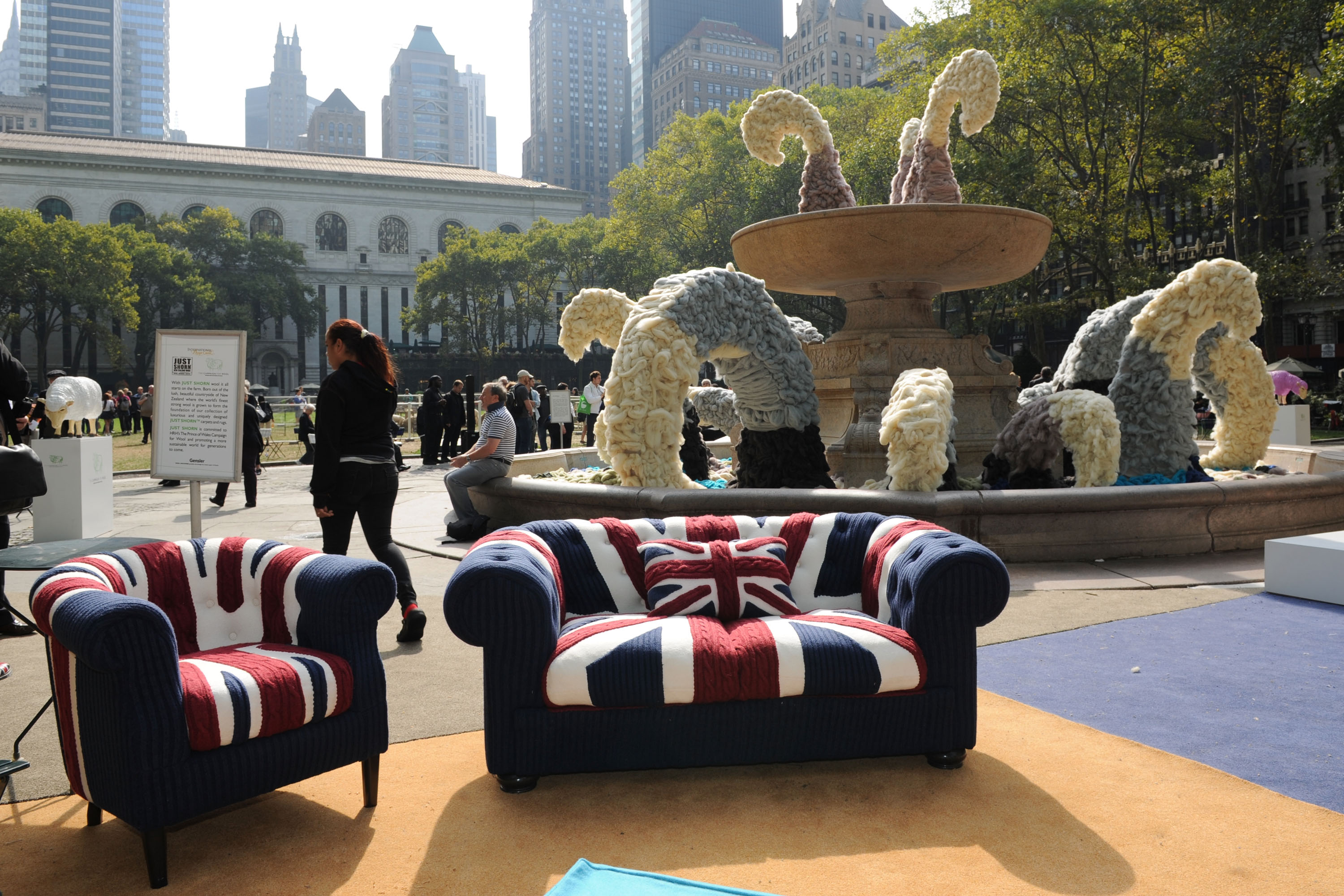 HRH The Prince of Wales brings Campaign for Wool to the US