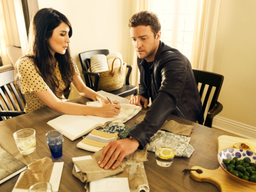 Justin Timberlake and Estee Stanley launch home line