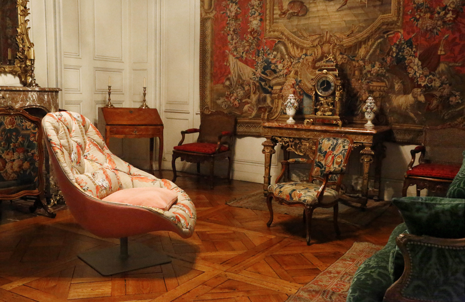 Rubelli and Moroso present exhibition at French museum