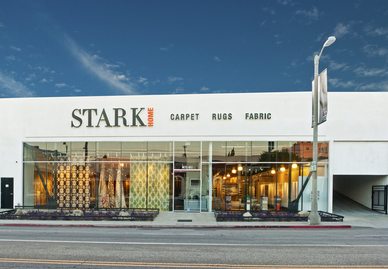 Stark's new L.A. showroom features retail division