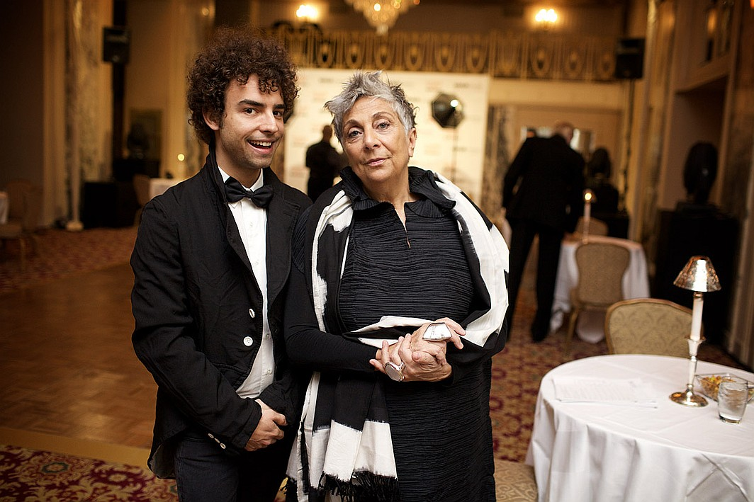 Gennaro Nobile Paola Navone At The Hall Of Fame Awards