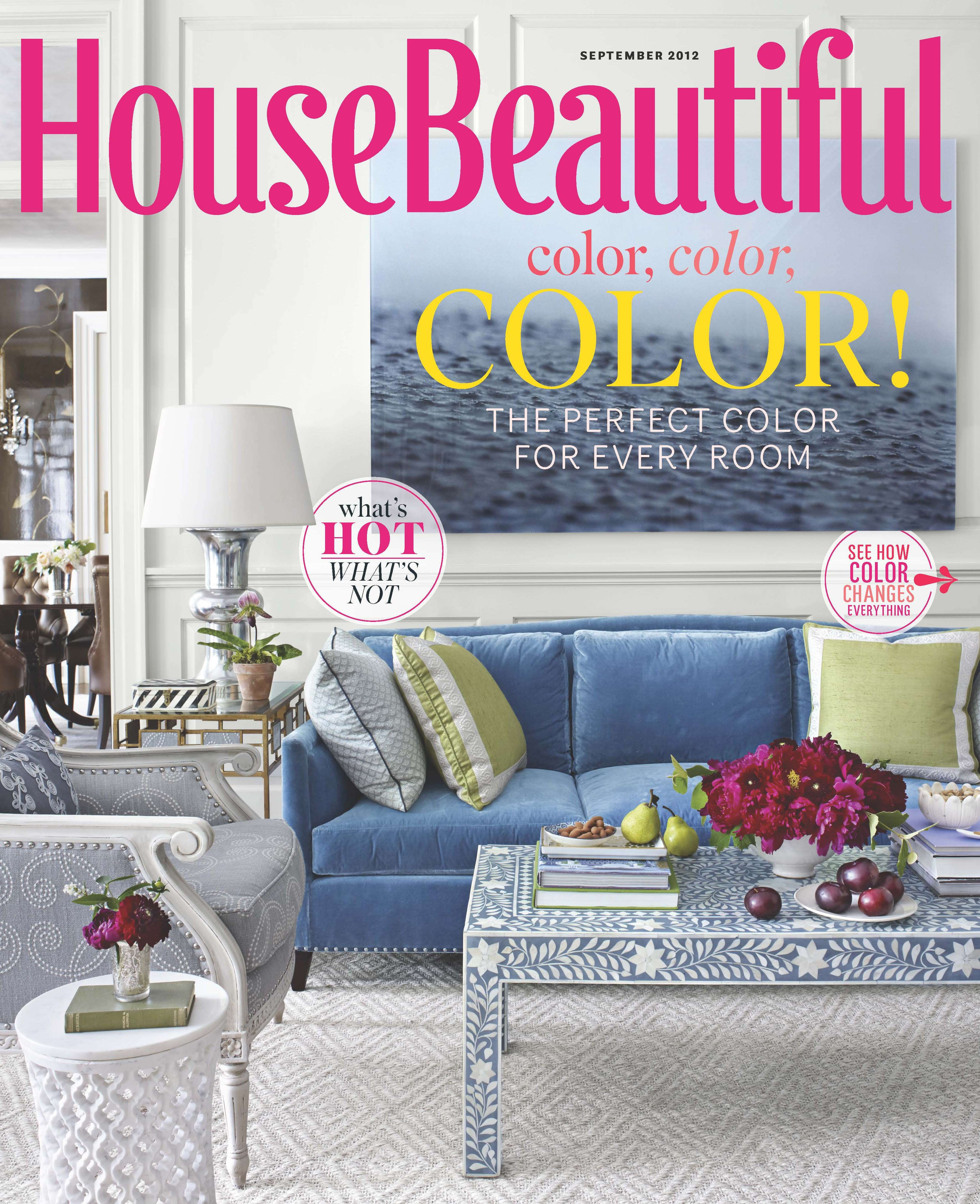 House Beautiful Report Names Blue America 39 S Favorite Color