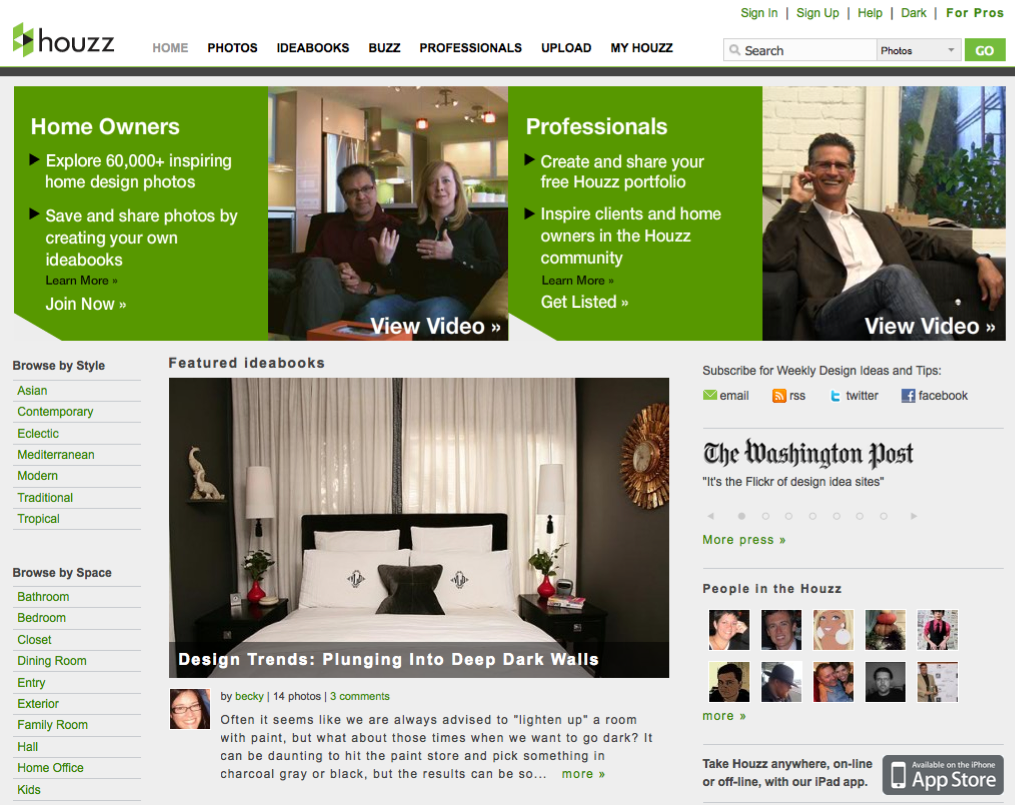 Home design website, Houzz, raises $2 million