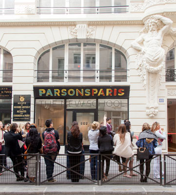 Parson's Paris campus opens in time for Design Week