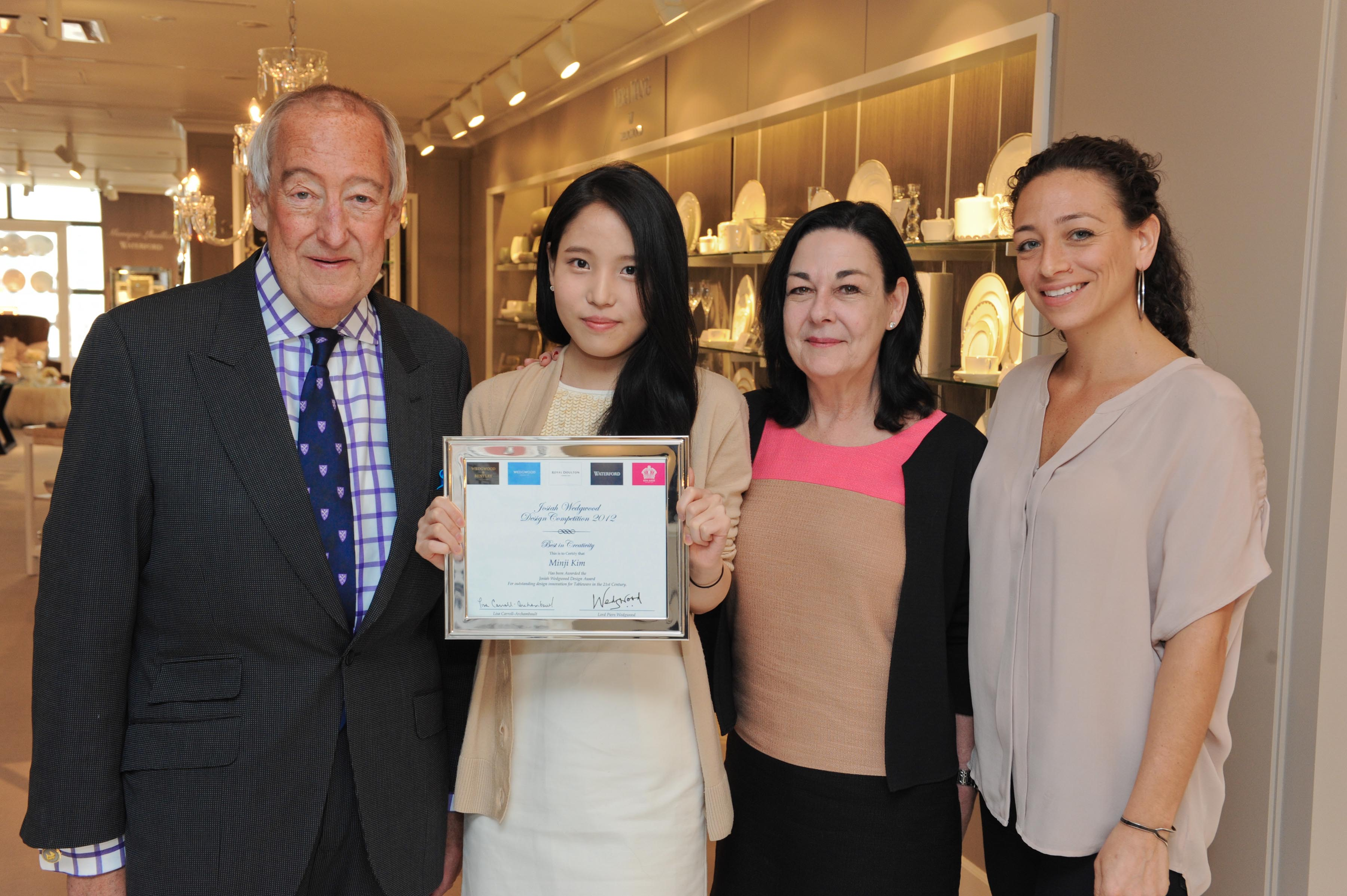 Winners announced in Wedgwood student design competition