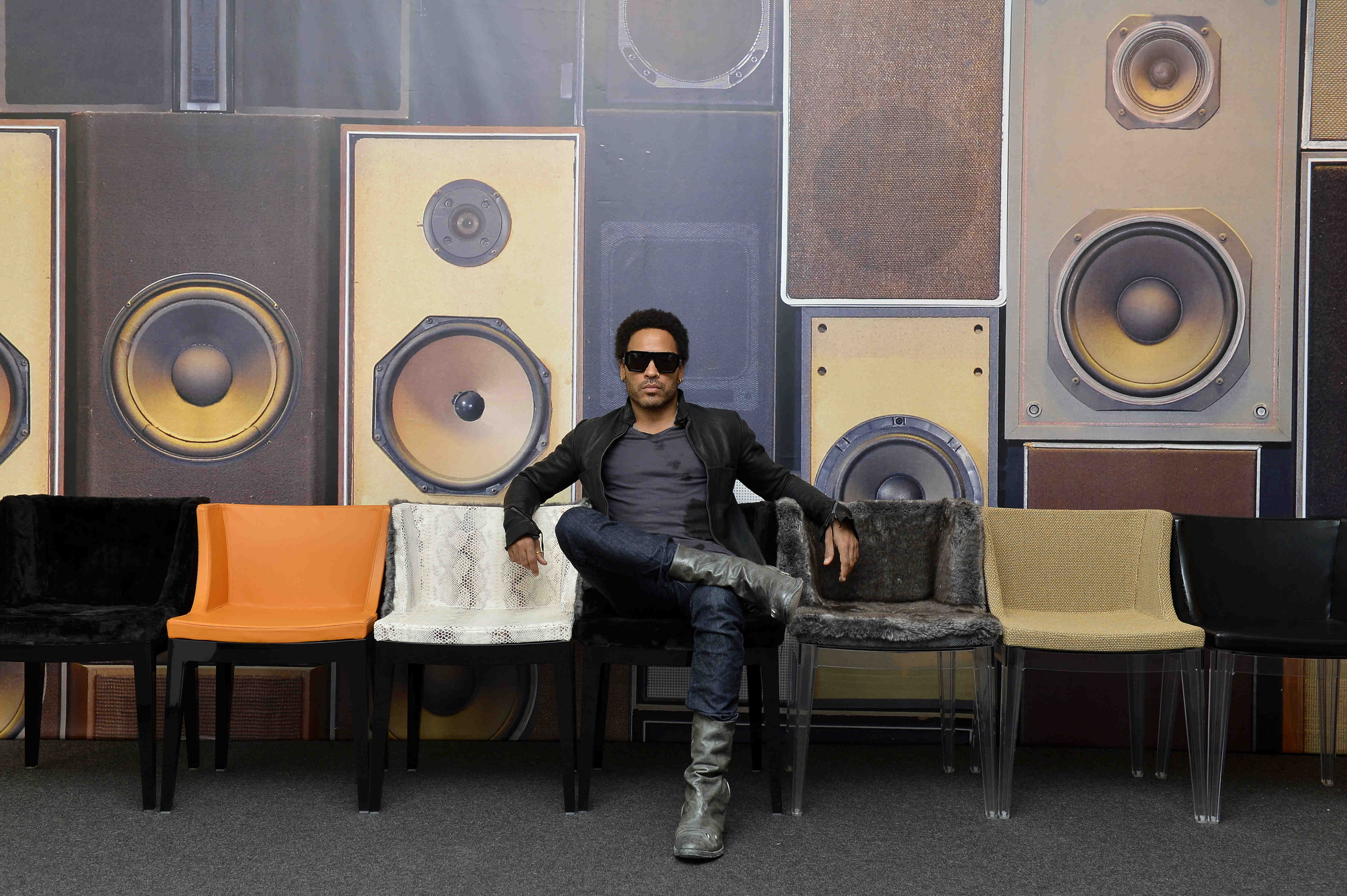 Marni, Lenny Kravitz debut furniture in Milan