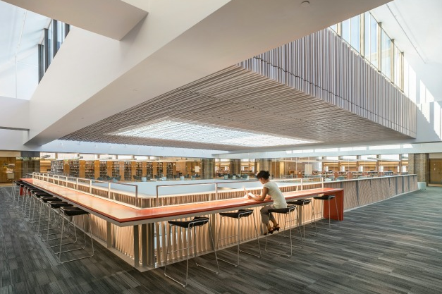 What is the future of library interiors?