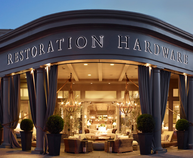 Restoration Hardware announces plans for IPO
