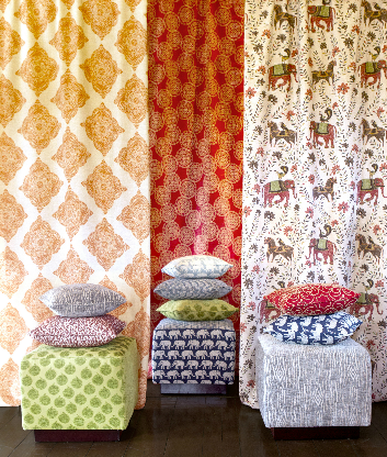 John Robshaw and Jonathan Adler launch fabric collections