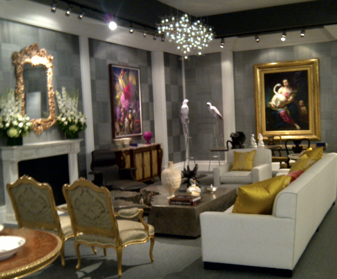 Jamie Drake room design showcased at Masterpiece London