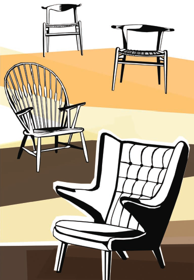 New children's book celebrates Hans J. Wegner chairs