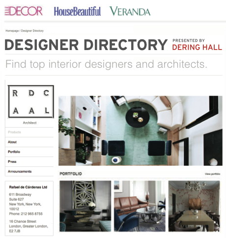 Hearst and Dering Hall to partner on Designer Directory