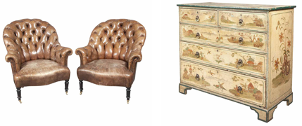 Eleven furniture and antiques auctions to note