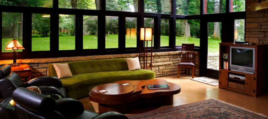 Nine Frank Lloyd Wright homes available for rent