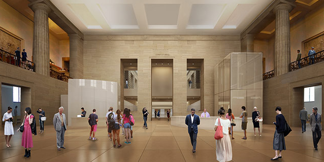 Gehry exhibition details Philadelphia Museum renovation