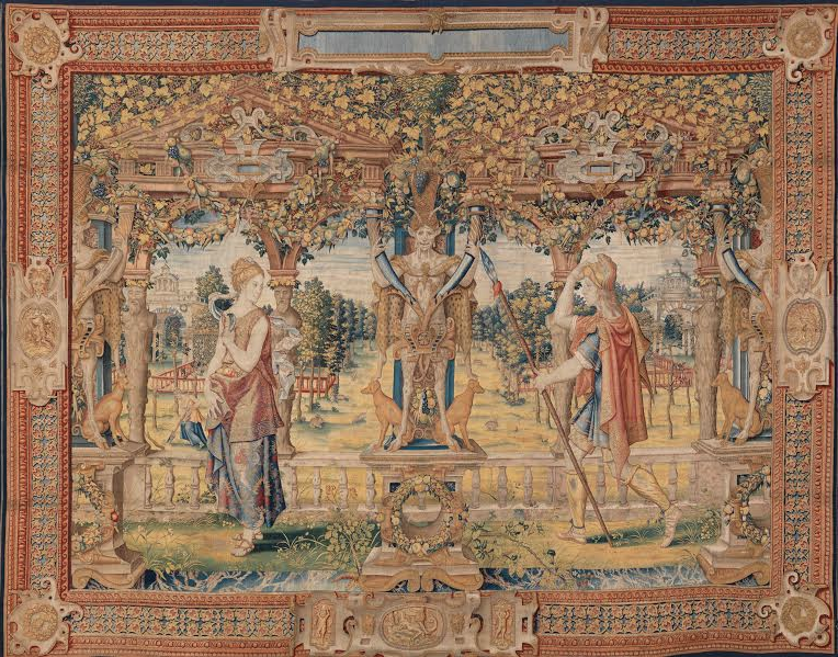 Jamie Drake and Stark weave a tale at Met tapestry exhibit