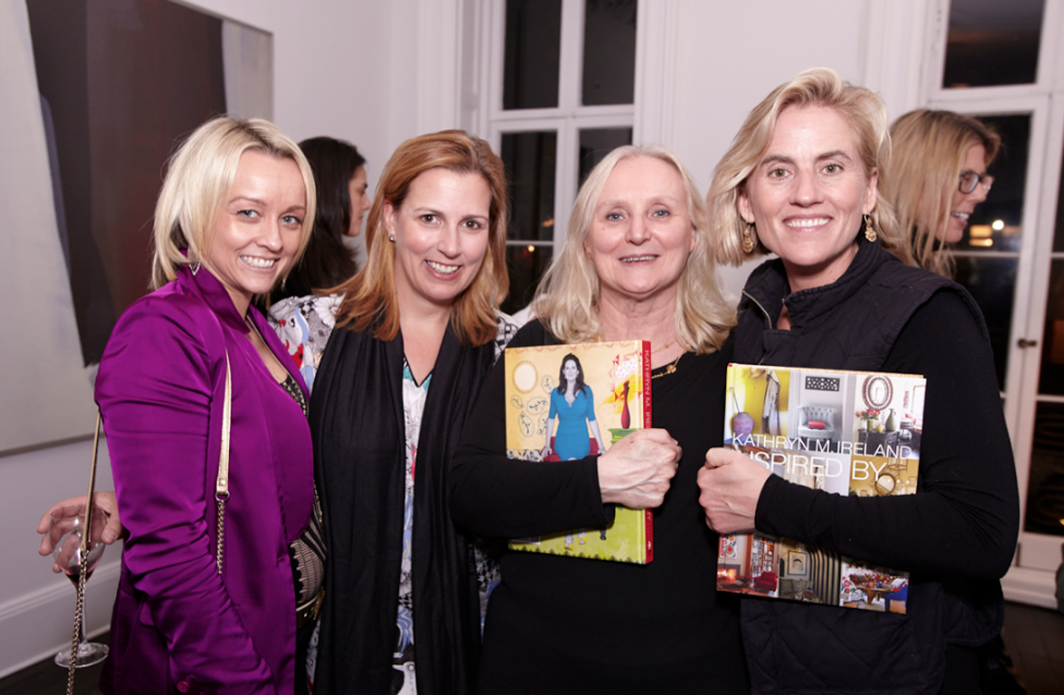 Kathryn Ireland launches book at Michael Bruno's NYC home