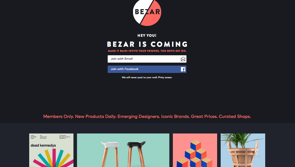 Fab founder is at it again with Bezar
