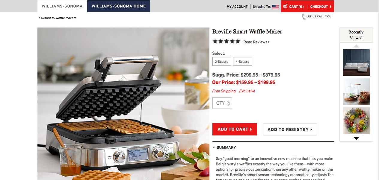 For first time, e-commerce drives Williams-Sonoma's growth