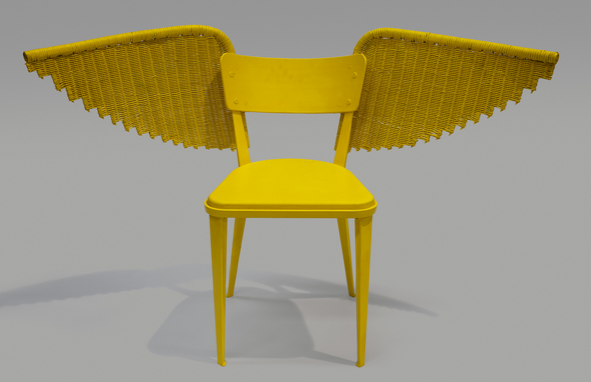 Designers re-imagine chair for children's charity