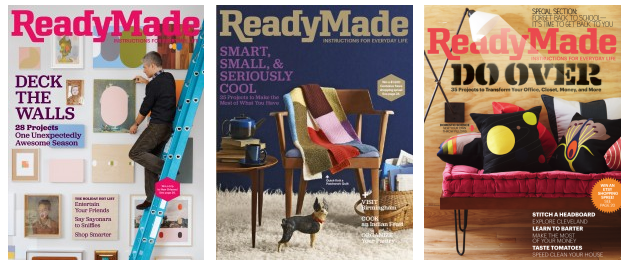 Meredith shutters DIY magazine 'ReadyMade'