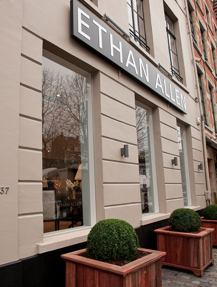 Ethan Allen expands to Brussels and Montreal