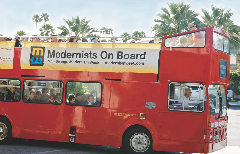 Palm Springs gears up for a week of Modernism
