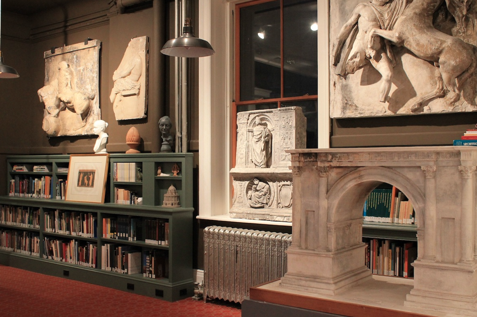 ICAA opens research library for classical architecture
