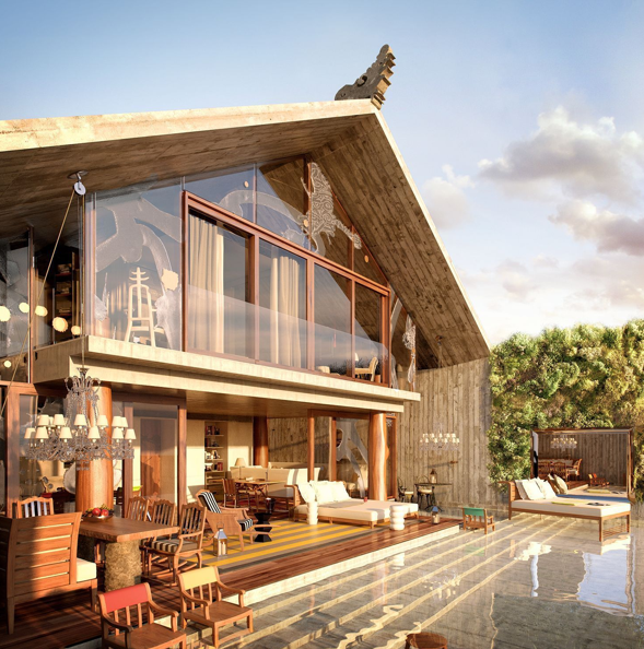 Philippe Starck-designed Bali villas up for grabs