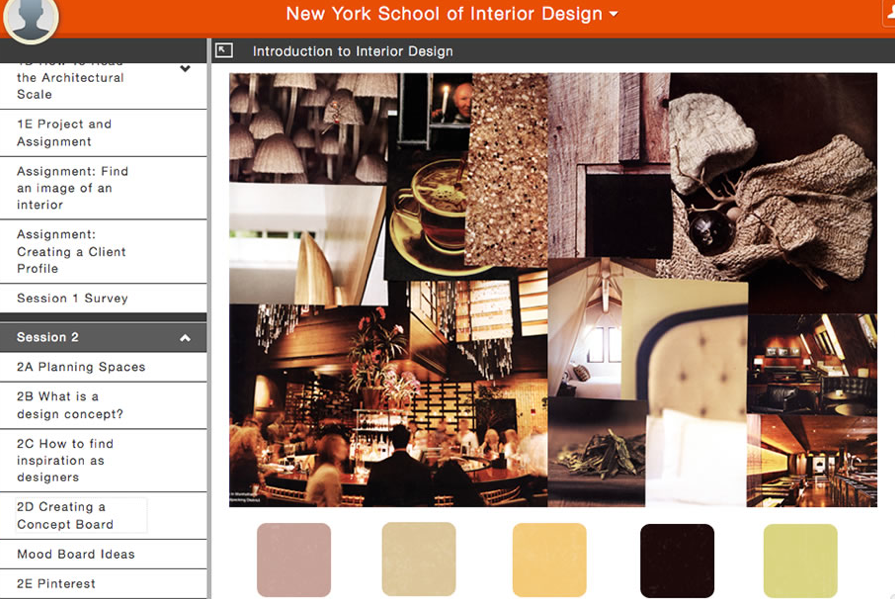 NYSID offers first online interior design course