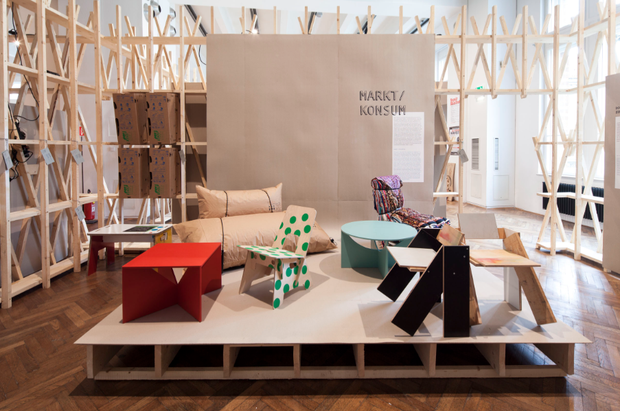 Vienna exhibition explores the history of DIY furniture