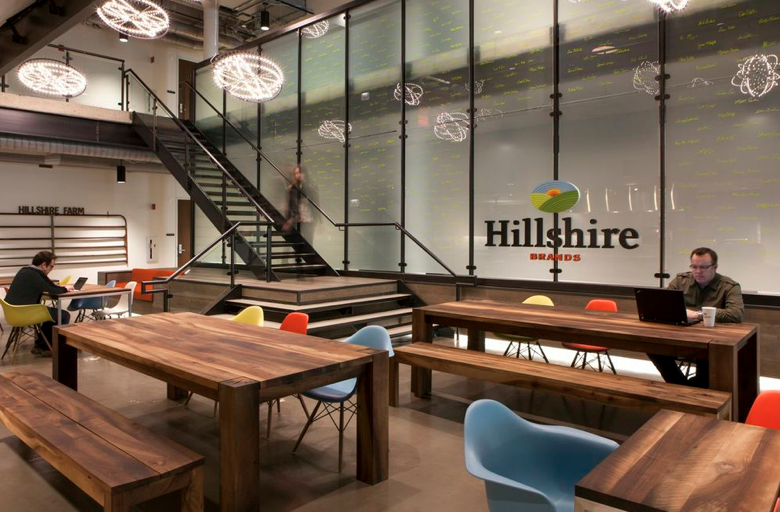 Category Corporate Office Over 10000 Square Feet Designer Gina Berndt ASID IIDA LEED AP Perkins Will Project Hillshire Brands