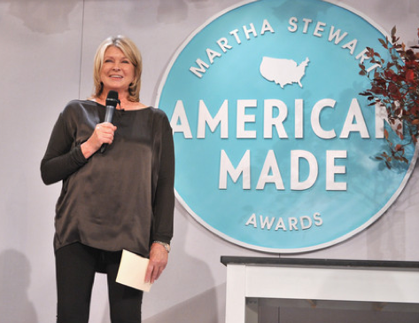 "Martha Stewart presents ""American Made"" awards and workshop"