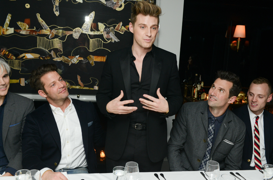 Friends gather to celebrate Jeremiah Brent's candles for Gilt