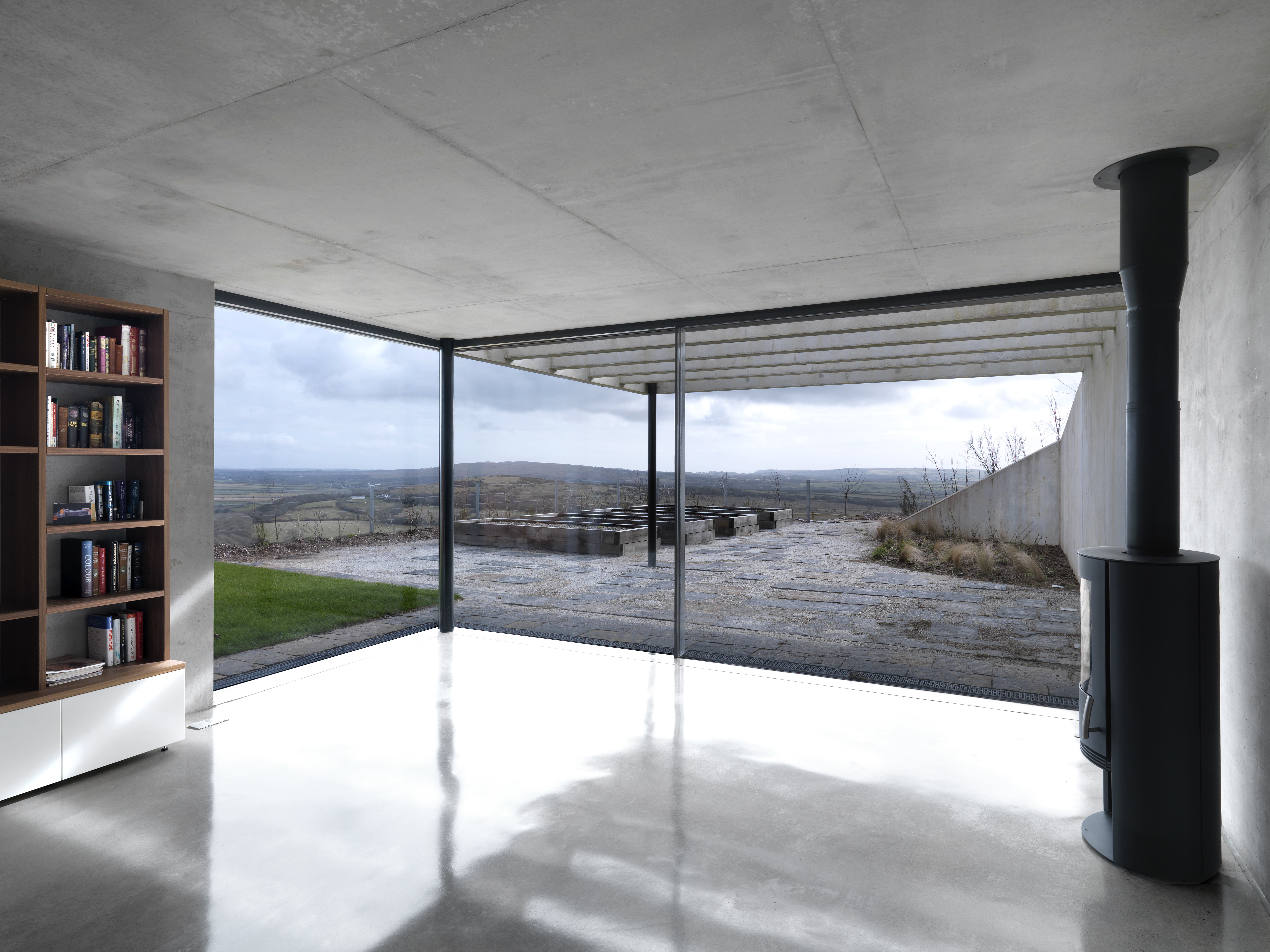 The Architects For Stormy Castle Created A Three Story Home That Pulls Remarkable Amount Of Natural Light Deep Into Its Interior