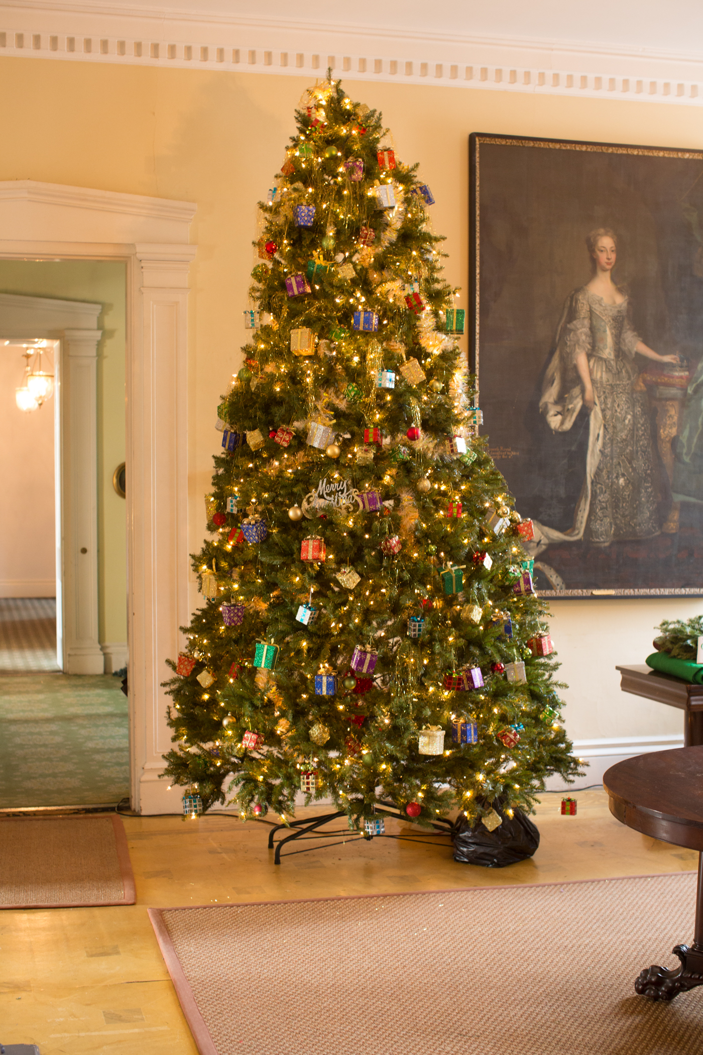 Designers and artists transform Christmas Trees at museum