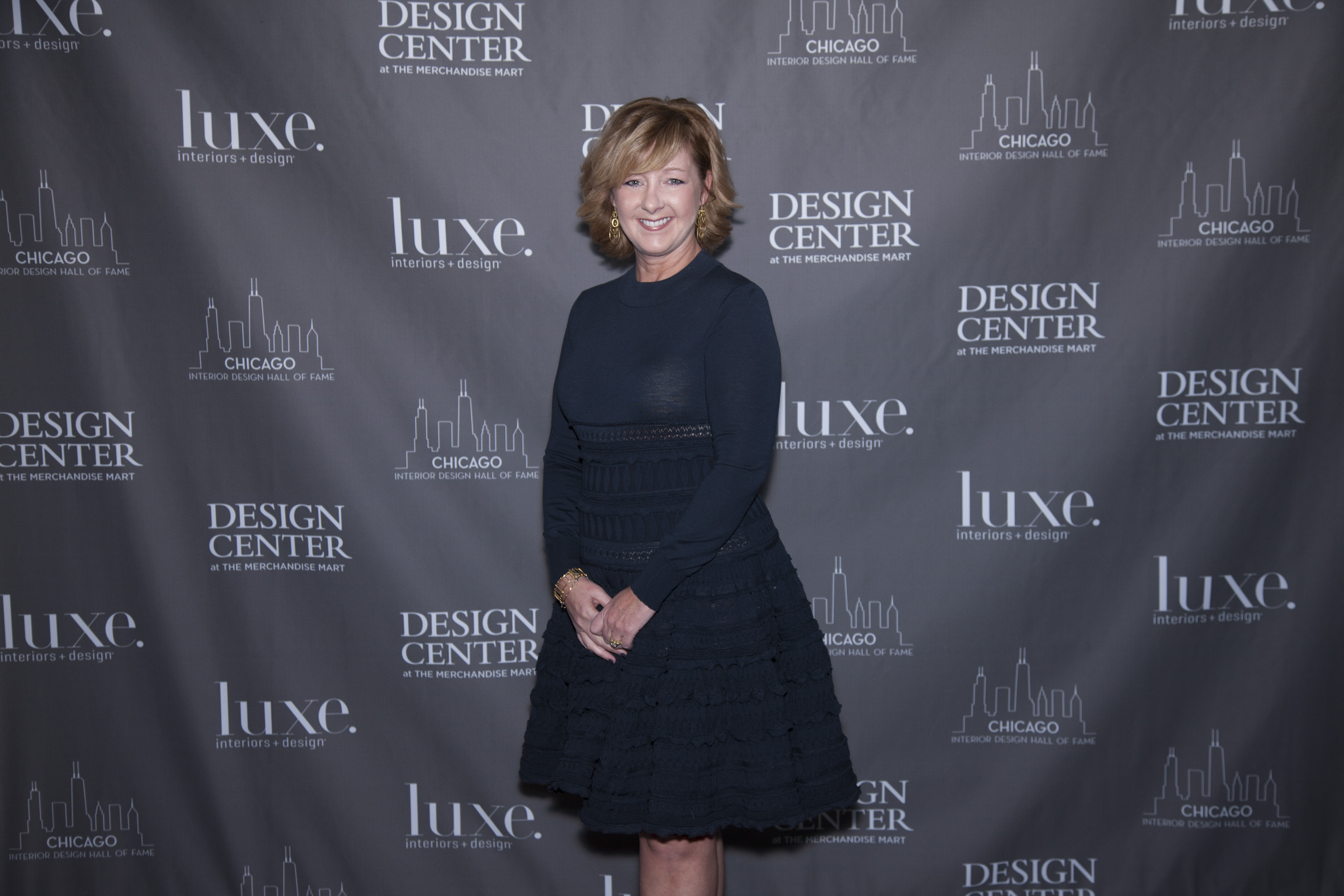 Luxe honors Tracy Hickman at Interior Design Hall of Fame