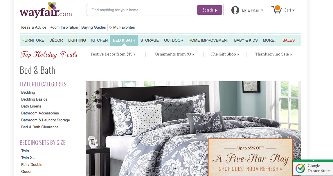 Wayfair gains traction after going public