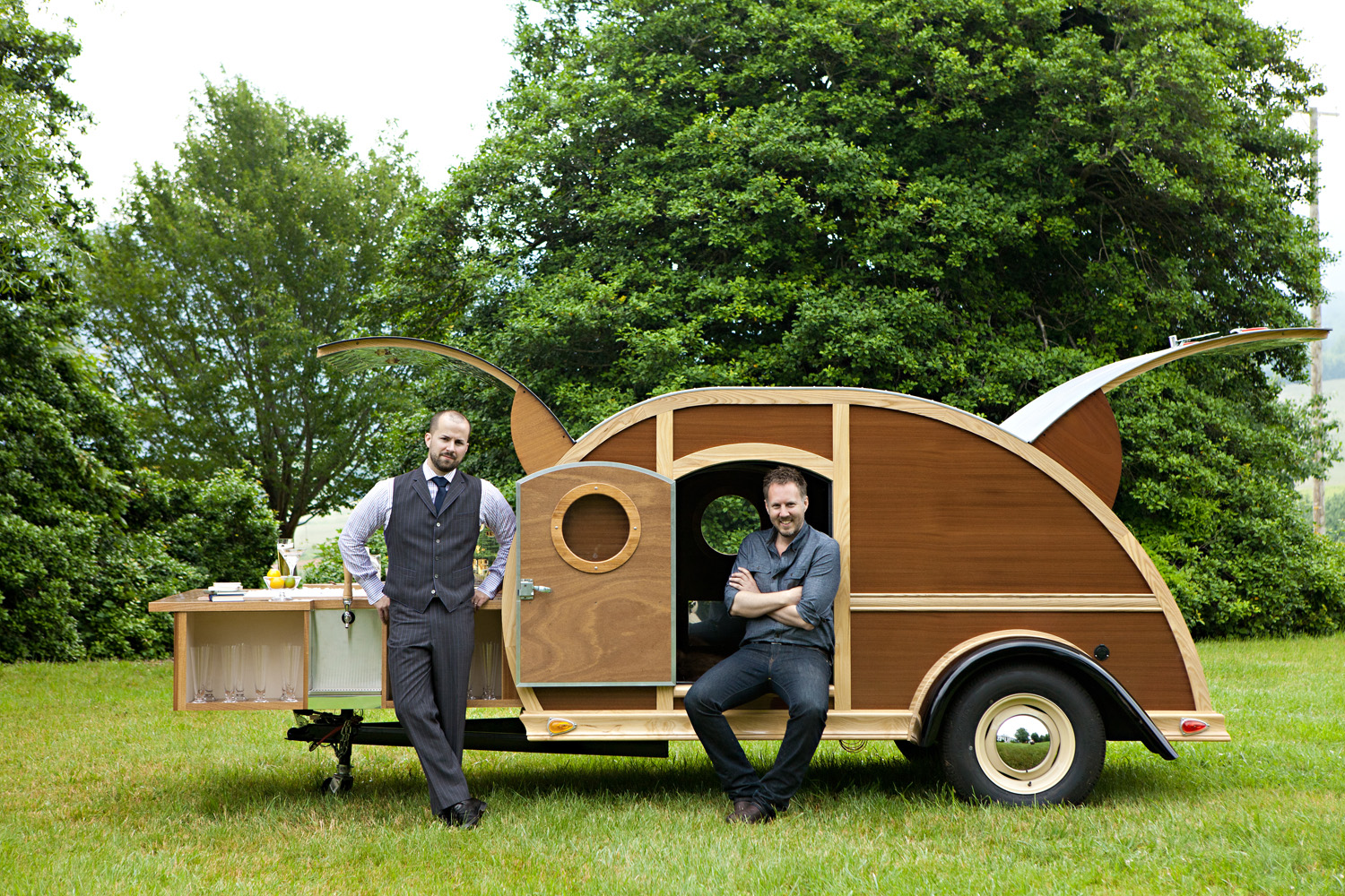 Designer Brad Ford embarks on the Great American Woody Tour