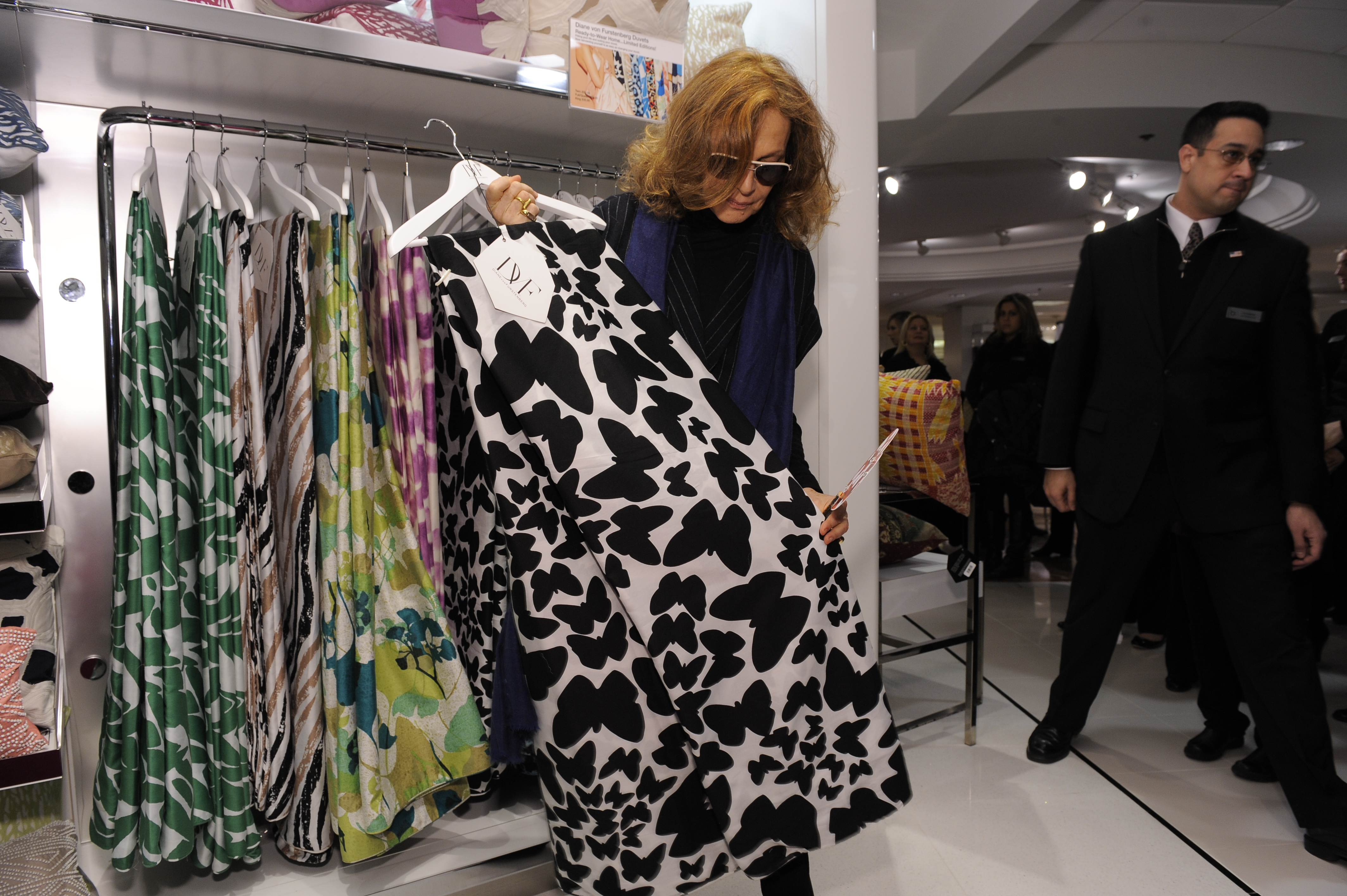 DVF Home makes home debut during Fashion Week