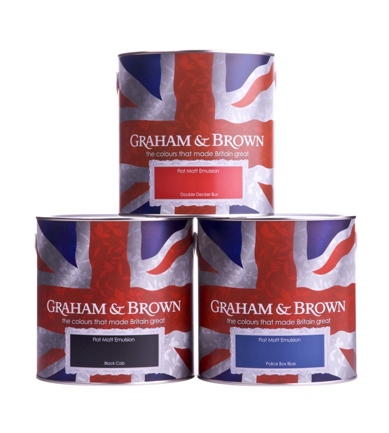 Graham & Brown launches Britain-inspired paint collection