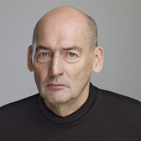 Rem Koolhaas receives Golden Lion for lifetime achievement