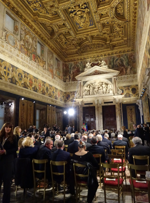 Rubelli honored with Leonardo Prize for Italian quality