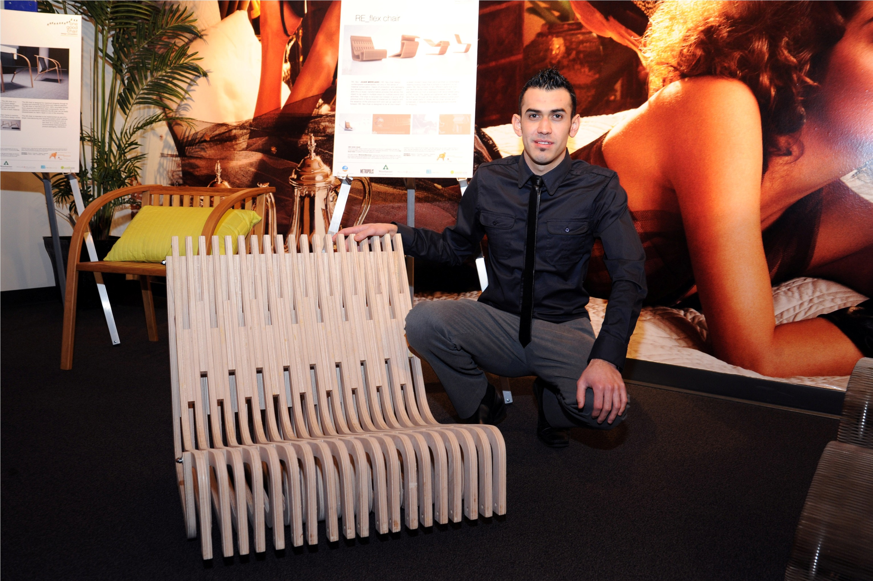 "Eric Tong and Juan Mercado win ""One Good Chair"" competition"