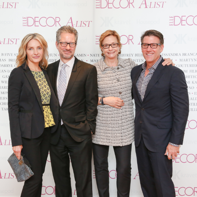 ELLE DECOR luncheon fetes this year's A Listers