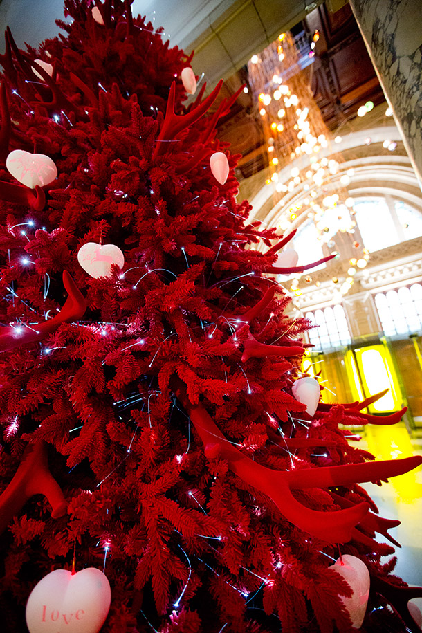 How about a Red Velvet Tree for the holidays?