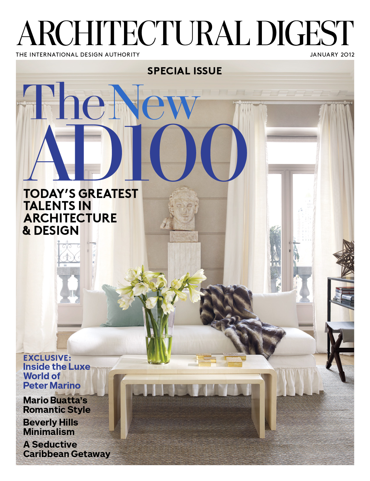 architectural digest celebrates the new ad100 list. Black Bedroom Furniture Sets. Home Design Ideas