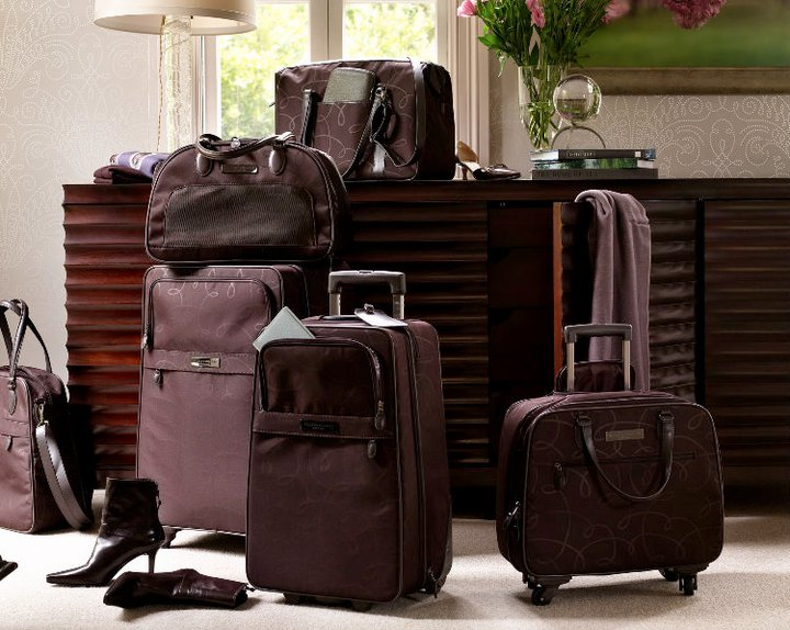 Barbara Barry launches luggage collection with Hartmann