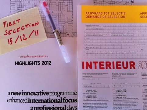 Interieur 2012 presents 'Innovative Design Awards'